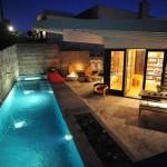 Thiết kế nhà đẹp với bể bơi