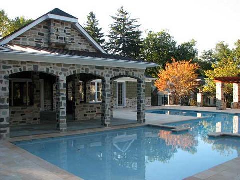 Thư giãn với hồ bơi tại nhà