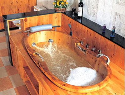 Thư giãn với thiết kế Spa tại nhà