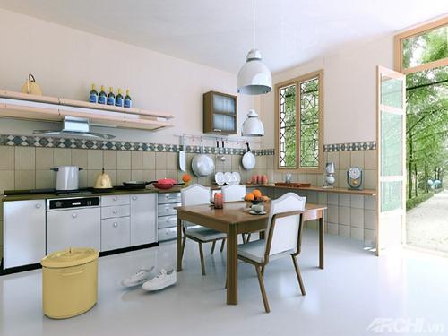 Bạn đã biết cách bố trí nhà bếp hợp phong thủy?1