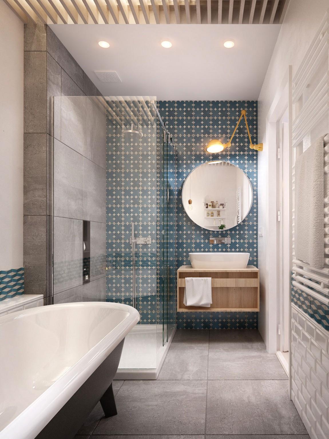 Bạn đã có ý tưởng thiết kế phòng tắm cho ngôi nhà?6