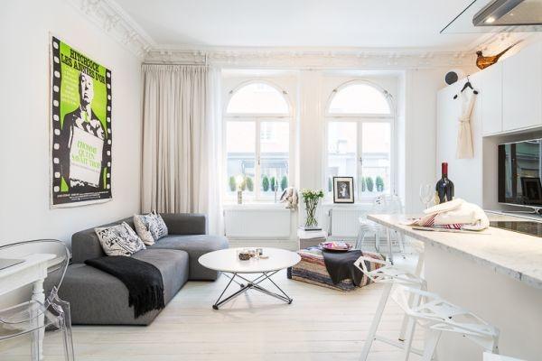 """""""Mách bạn"""" cách bài trí nội thất cho căn hộ 40 mét vuông1"""