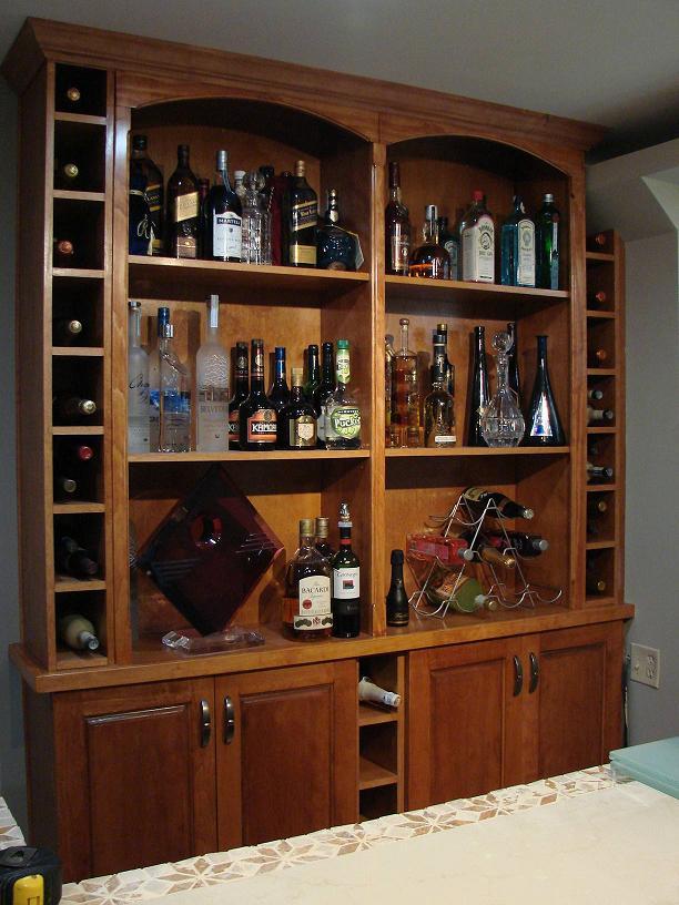"""""""Mách bạn"""" cách bố trí tủ rượu hợp phong thủy trong phòng bếp8"""