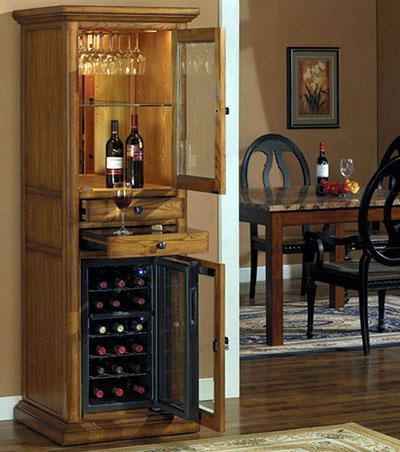 """""""Mách bạn"""" cách bố trí tủ rượu hợp phong thủy trong phòng bếp9"""