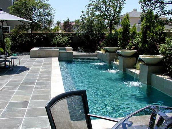 Những thiết kế bể bơi nhỏ và độc đáo trong sân vườn1