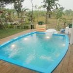 Những thiết kế bể bơi nhỏ và độc đáo trong sân vườn