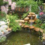 Nghệ thuật trang trí tiểu cảnh đá cho sân vườn