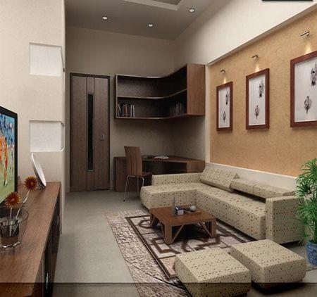 Cách bài trí nội thất tạo điểm nhấn cho nhà ống5