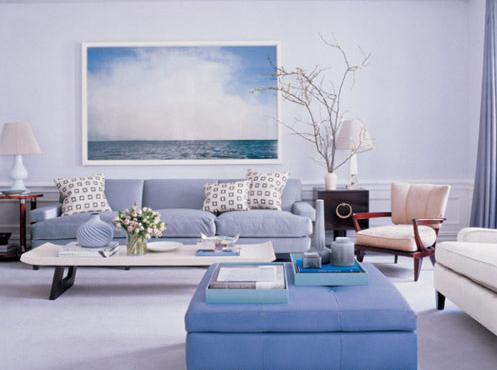 Chọn màu sơn nào hợp phong thủy cho phòng khách?1