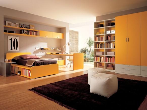Mộc mạc, tự nhiên với sàn gỗ cho phòng ngủ