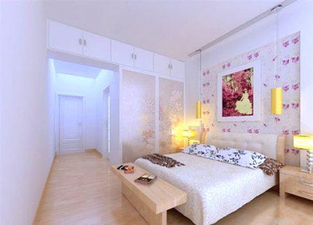 Mộc mạc, tự nhiên với sàn gỗ cho phòng ngủ2