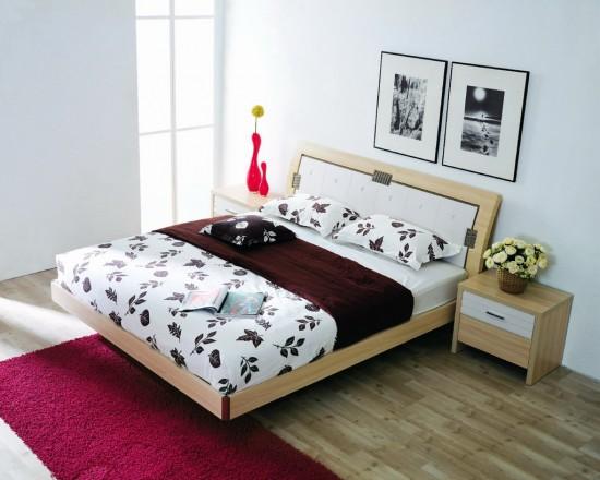 Mộc mạc, tự nhiên với sàn gỗ cho phòng ngủ3