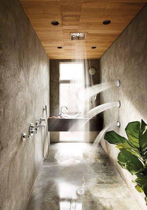 """Ngắm những phòng tắm """"nổi bần bật"""" với vòi sen hiện đại6"""