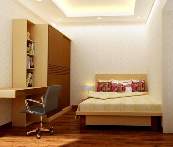 Mẹo hay: Trang trí phòng ngủ có diện tích nhỏ 2